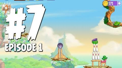 Angry Birds Stella Level 7 Walkthrough Branch Out Episode 1
