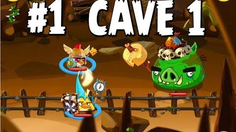 Updated Angry Birds Epic Cave 1 Shaking Hall Level 1 Walkthrough