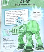 AT-AT Angry Birds Star Wars Character Encyclopedia