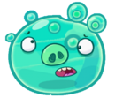Angry Birds Fight! - Monster Pigs - Tired Aqua Pig