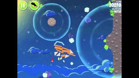Pig Bang 1-25 (Angry Birds Space)