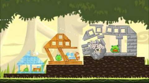 Official Angry Birds Walkthrough Danger Above 6-10