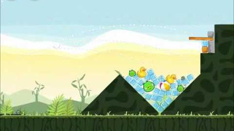 Official Angry Birds Walkthrough Poached Eggs 2-2