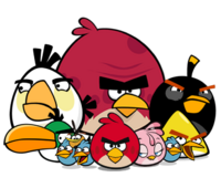 The Flock Angry Birds