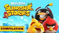Angry Birds Slingshot Stories Compilation - S1 Ep1-5