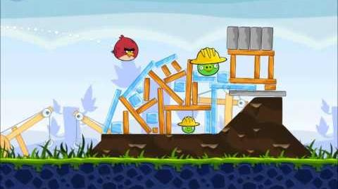 Official Angry Birds Walkthrough The Big Setup 9-5