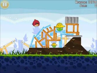 Official Angry Birds Walkthrough The Big Setup 9-5
