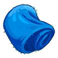 Синий шёлк