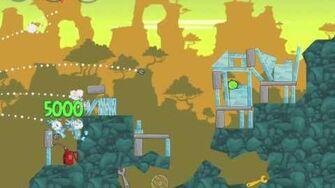 Angry Birds 23-9 Bad Piggies 3 Star Walkthrough (Angry Birds Classic 23-9)