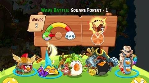 Angry Birds Epic Square Forest Level 1 Walkthrough