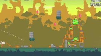 Angry Birds 23-15 Bad Piggies 3 Star Walkthrough (Angry Birds Classic 23-15)