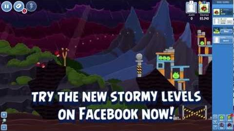 Angry Birds Facebook Gameplay Surf & Turf