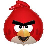 Красная птица шар