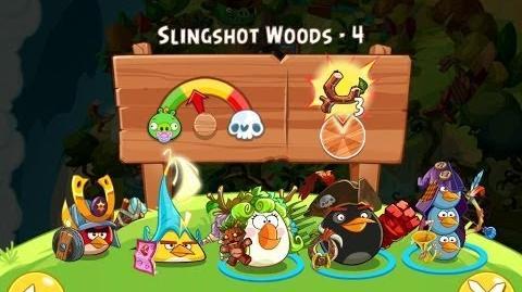 Angry Birds Epic Slingshot Woods Level 4 Walkthrough