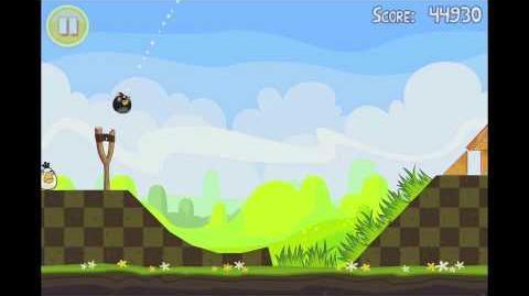 Angry Birds Seasons Easter Eggs Level 16 Walkthrough 3 Star