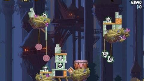 Moon of Endor 5-24 (Angry Birds Star Wars)/Video Walkthrough