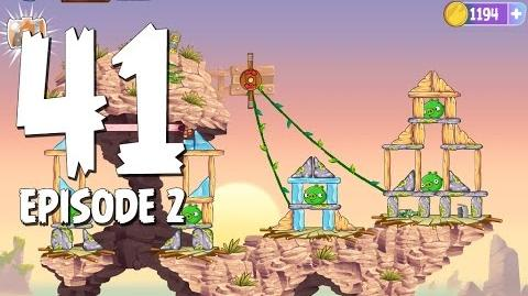 Angry Birds Stella Level 41 Episode 2 Beach Day Walkthrough