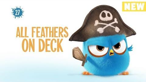 Angry Birds Blues All Feathers On Deck - S1 Ep27 NEW
