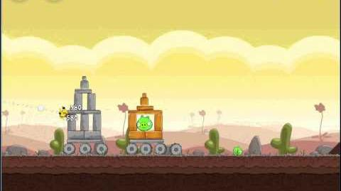 Angry Birds Chrome 3-6 3-Star Walkthrough Poached Eggs Level 3-6