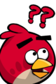 Angry Birds Confused Red