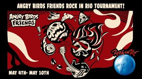 Angry Birds Friends - Rock in Rio Tournament 2015!