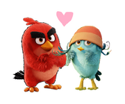 Red x Willow 6 (angry birds movie)