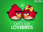 Красные птицы