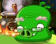 Свинья-профессор в Эпик