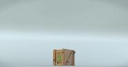 Свинья задавлена коробкой
