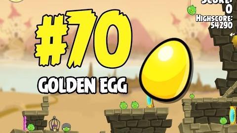 Angry Birds Seasons Fairy Hogmother Golden Egg 70 Walkthrough