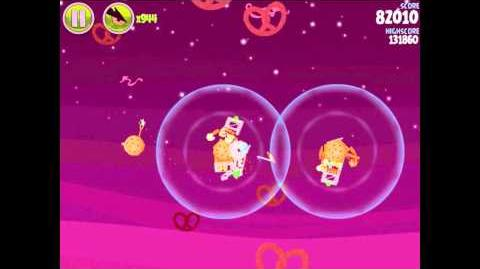 Angry Birds Space Utopia 4-3 Walkthrough 3-Star