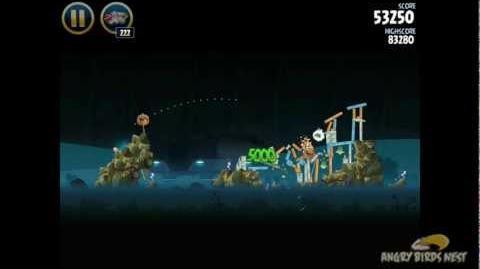 Hoth 3-37 (Angry Birds Star Wars)/Video Walkthrough
