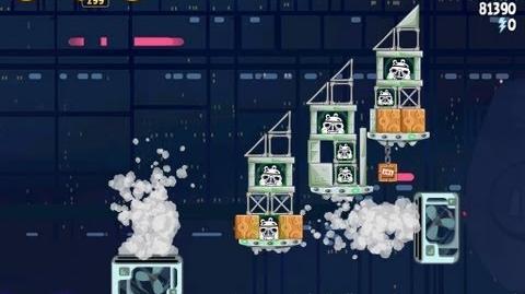 Cloud City 4-27 (Angry Birds Star Wars)/Video Walkthrough