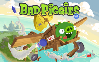 Bad Piggies Loading 1440x900