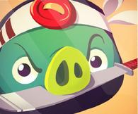 Ninja Pig Poster