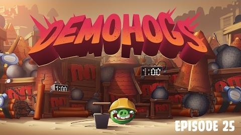 "Piggy Tales Pigs at Work - ""DemoHogs"""