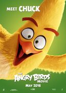 The Angry Birds Movie Character Poster 02