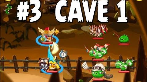 Updated Angry Birds Epic Cave 1 Shaking Hall Level 3 Walkthrough
