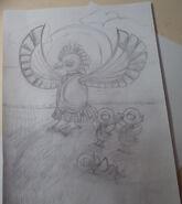 Дуна и птенцы