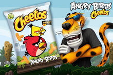 Cheetos AngryBirds Turkey 4