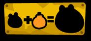 Оранжевая табличка