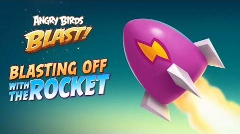 Angry Birds Blast - The Rocket Booster