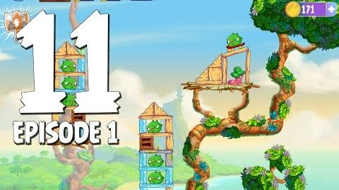 Angry Birds Stella Level 11 Walkthrough Branch Out Episode 1