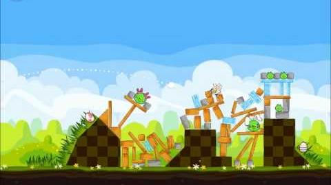 Official Angry Birds Seasons Walkthrough Easter Eggs 1-17