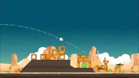 Official Angry Birds Walkthrough Ham 'Em High 12-11
