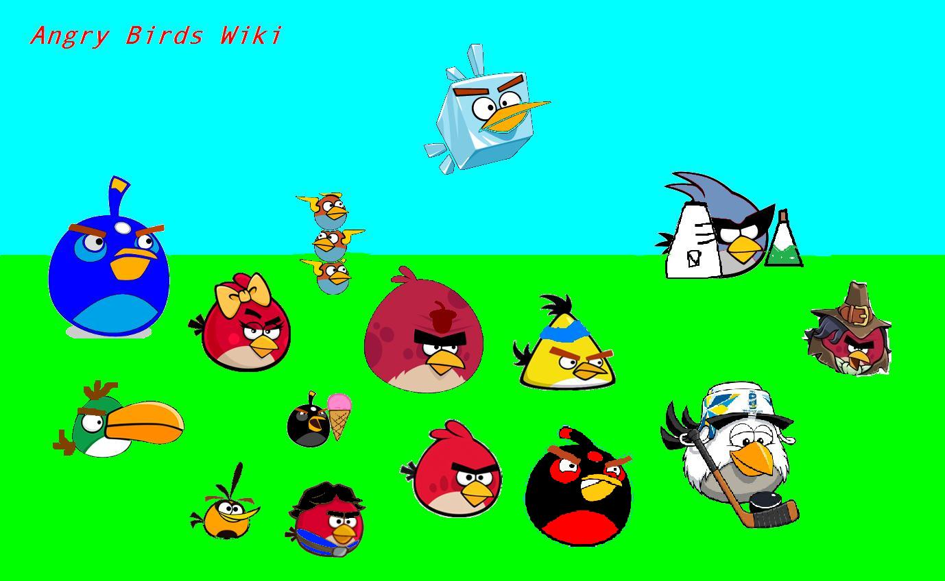 то, что злые птицы картинка много разные этом без