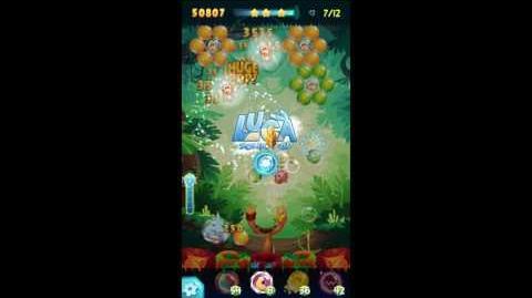 Angry Birds POP! Level 11 Golden Feather (Luca) Walkthrough