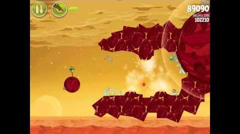 Angry Birds Space Red Planet 5-20 Walkthrough 3-Star