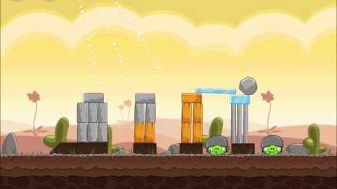 Official Angry Birds Walkthrough Poached Eggs 3-10