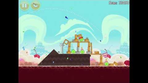 Angry Birds Birdday Party 18-3 Walkthrough 3 Star Birthday Party